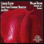 Leonard Slatkin William Bolcom: Symphony #4/Session 1