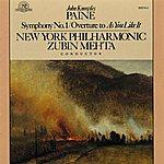 Zubin Mehta John Knowles Paine: Symphony #1