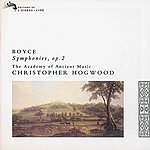 The Academy Of Ancient Music Boyce: 8 Symphonies, Op.2