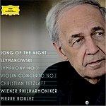"Steve Davislim Szymanowski: Violin Concerto No.1, Op.35; Symphony No.3, Op.27 ""Song Of The Night"""
