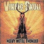 Viking Skull Heavy Metal Thunder