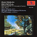James Johnson Kabalevsky: Piano Concerto No. 3 - Muczynski: Piano Concerto No. 1 / The Suite, Op. 13 / A Serenade For Summer