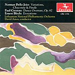 David Amos Dello Joio, N.: Variations, Chaconne, And Finale / Creston, P.: Dance Overture / Bloch, E.: Evocations