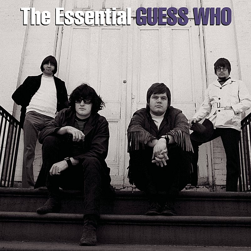 Cover Art: The Essential The Guess Who