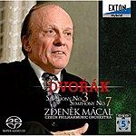 Czech Philharmonic Orchestra Dvorak : Symphony No.3 & 7