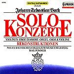 Max Pommer Bach: Solo Concertos