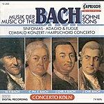 Concerto Koln Bach Sons (The) – Bach, J.C.F. / Bach, W.F. / Bach, C.P.E. / Bach, J.C.