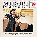 Midori Midori: Live At Carnegie Hall