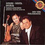 Midori Dvorák: Violin Concerto, Romance And Carnival Overture
