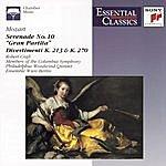 Ensemble Wien-Berlin Mozart: Serenade; Divertimenti; Fantasie; Adagio And Allegro