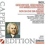 Hans-Martin Linde Bach: Geschwinde, Ihr Wirbelnden Winde