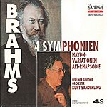Kurt Sanderling Brahms: 4 Symphonies