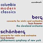 Cleveland Orchestra Columbia Modern Classics: Alban Berg And Arnold Schönberg - The Violin Concertos