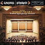 Charles Munch Brahms: Symphonies No. 4 In E Minor, Op. 98 & No. 2 In D Major, Op. 73