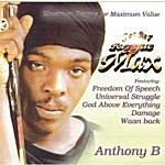 Anthony B Jet Star Reggae Max Presents.......Anthony B