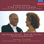Kiri Te Kanawa Strauss, R.: Vier Letzte Lieder; Die Nacht; Allerseelen Etc.