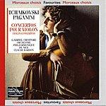 Orchestre Philharmonique De Nice Tchaïkovski Paganini : Concertos Pour Violon