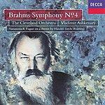 Cleveland Orchestra Brahms: Symphony No.4/Handel Variations & Fugue