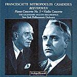 New York Philharmonic Ludwig Van Beethoven : Piano Concerto No. 5, Violin Concerto (The Legendary 1952-1955 Recordings)