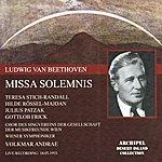 Wiener Symphoniker Ludwig Van Beethoven : Missa Solemnis (Live Recording May 1955)