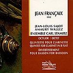 Carl Stamitz Francaix : Octuor, Quintette & Divertissement