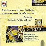 Judith Nelson Monteclair : 4ème Concert Pour Hautbois, Clavecin & Basse De Viole - Cantates