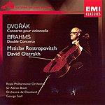 Mstislav Rostropovich Dvorak Concerto Pour Violoncelle Brahms