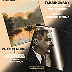Paris Conservatoire Orchestra Piotr Iljic Tchaikovsky : Symphony No. 6 Pathétique, Piano Concerto No. 1