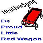 HeatherSong Be Proud Little Red Wagon