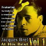 Jacques Brel Jacques Brel At His Best Vol 1