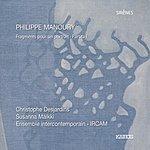 Ensemble Intercontemporain Manoury: Fragments Pour Un Portrait & Partita I
