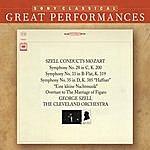"""George Szell Mozart: Symphonies Nos. 28, 33, & 35 """"Haffner""""; Eine Kleine Nachtmusik [Great Performances]"""