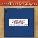 George Szell Brahms: Symphony No. 1; Variations On A Theme By Haydn; Five Hungarian Dances [Great Performances]