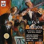 Régis Pasquier Bartok : Contrastes 44 Duos Pour 2 Violons