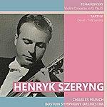 Boston Symphony Orchestra Tchaikovsky: Violin Concerto In D - Tartini: Devil's Trill Sonata