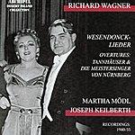 Kölner Rundfunk-Sinfonie-Orchester Richard Wagner : Wesendonck-Lieder Overtures (Recordings 1940-1955)