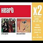 Heart X2 (Little Queen/Dog & Butterfly)