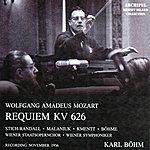 Wiener Symphoniker Wolfgang Amadeus Mozart : Requiem, Kv 626 (Recording: November 1956)