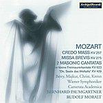 Wiener Symphoniker Wolfgang Amadeus Mozart: Credo Mass, Kv. 257, Missa Brevis, Kv. 275, 2 Masonic Cantatas