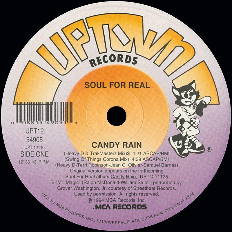 Cover Art: Candy Rain (Remixes)