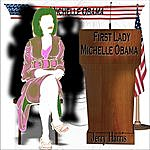 """Jerry Harris """"First Lady Michelle Obama"""""""