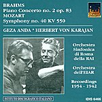 Géza Anda Mozart, W.a.: Piano Concerto No. 2 / Symphony No. 40 (Anda) (1942, 1954)