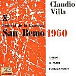 Claudio Villa Vintage Italian Song No. 53 - Ep: San Remo 1960