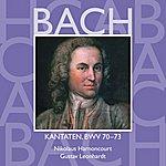 Nikolaus Harnoncourt Bach, Js : Sacred Cantatas Bwv Nos 70 - 73