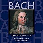Nikolaus Harnoncourt Bach, Js : Sacred Cantatas Bwv Nos 76 - 78