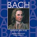 Nikolaus Harnoncourt Bach, Js : Sacred Cantatas Bwv Nos 79 - 82