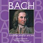 Nikolaus Harnoncourt Bach, Js : Sacred Cantatas Bwv Nos 67 - 69a