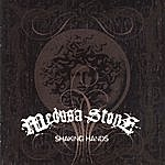 Medusa Stone Shaking Hands
