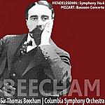 Sir Thomas Beecham Mendelsson: Symphony No. 4 - Mozart: Bassoon Concerto