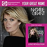 Natalie Grant Your Great Name (Accompaniment Track)
